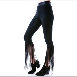 HALLOWEEN / FAUX HAIR LEGGINGS SPOOKY